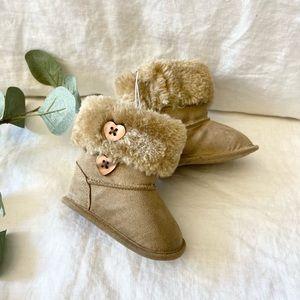 Koala Baby, baby girl boots. Size 1